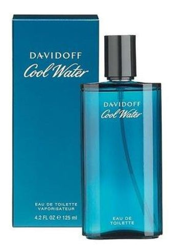 Cool Water by Davidoff Men Eau De Toilette  4.2 oz