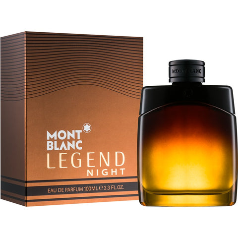 Legend Night by Mont Blanc Men Eau De Parfum 3.3 oz