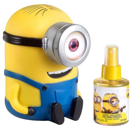 Minions + Money Box by Illumination Entertainment Children Eau De Toilette 3.4 oz