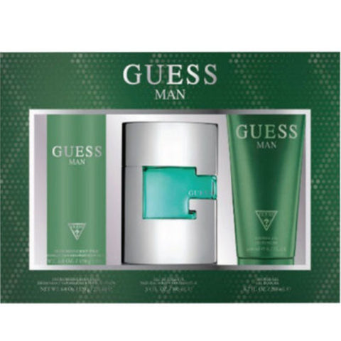 Guess Man by Guess Men Gift Set 3 Piezas