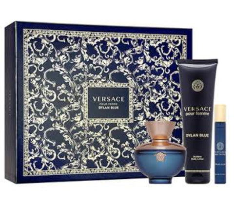 Versace Dylan Blue  by Gianni Versace Women Gift Set 3 Piezas