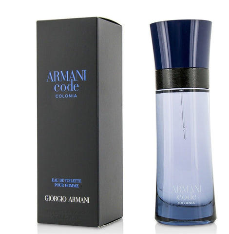 Armani Code Colonia  by Giorgio Armani Men Eau De Toilette 2.5 oz