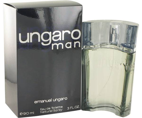 Ungaro Man  by Ungaro Men Eau De Toilette 3 oz