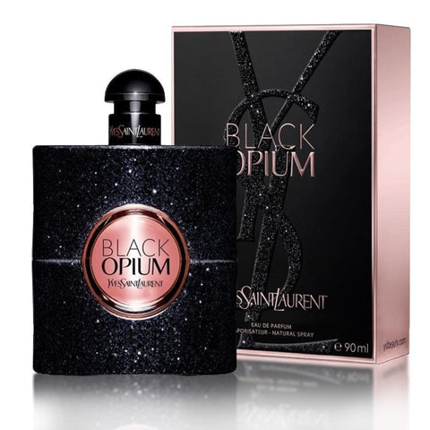Black Opium by Yves Saint Laurent Women Eau De Parfum 3 oz