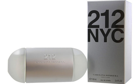 212 NYC by Carolina Herrera Women Eau De Toilette 3.4 oz