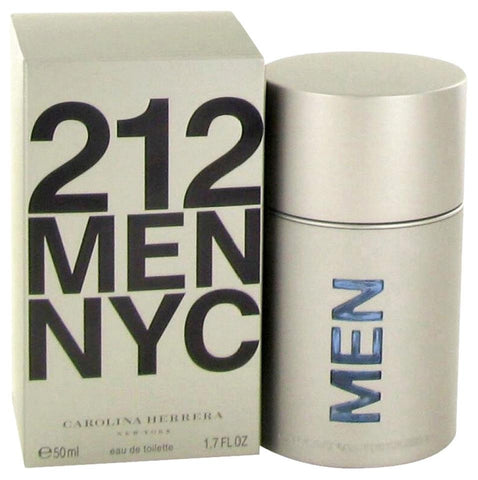 212 MEN NYC by Carolina Herrera Men Eau De Toilette 1.7 oz