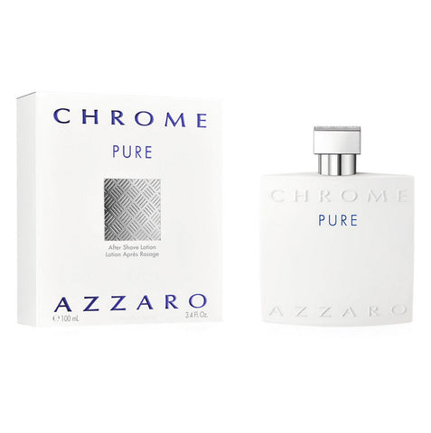 Chrome Pure by Azzaro Men Eau De Toilette 3.4 oz