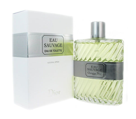 Eau Sauvage by Christian Dior Men Eau De Toilette 3.4 oz