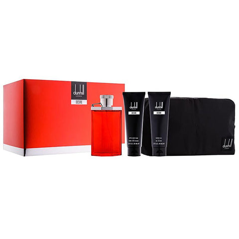 Desire by Alfred Dunhill Men Gift Set 4 Piezas