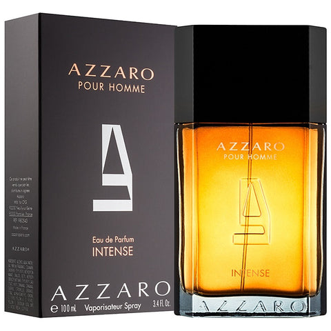 Azzaro Intense by Azzaro Men Eau De Parfum 3.4 oz