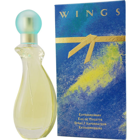 Wings by Giorgio Beverly Hills Women Eau De Toilette 3 oz