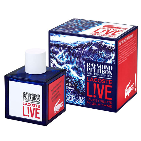 Raymond Pettibon Collector's by Lacoste Men Eau De Toilette 3.3 oz