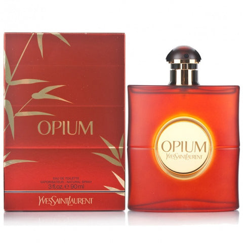 Opium by Yves Saint Laurent Women Eau De Toilette 3 oz