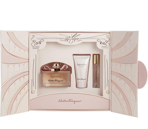 Signorina by Salvatore Ferragamo Women Gift Set 3 Piezas