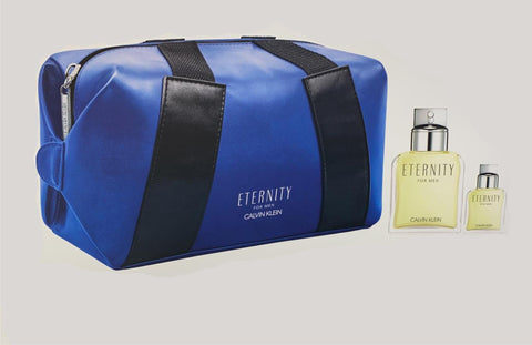 Eternity For Men by Calvin Klein Men Gift Set 3 Piezas