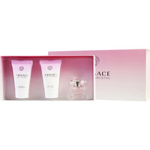 Versace Bright Crystal by Gianni Versace Women Gift Set 3 Piezas