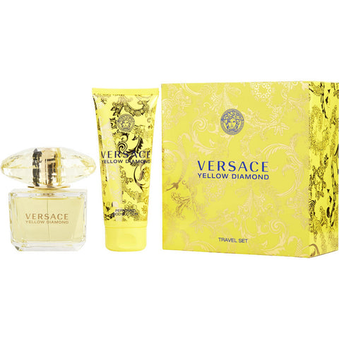 Versace Yellow Diamond by Gianni Versace Women Gift Set 2 Piezas