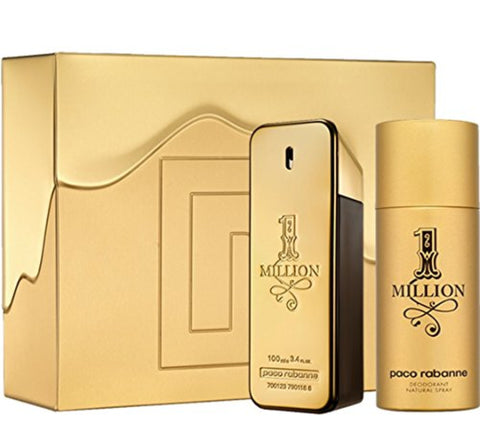Paco Rabanne 1 Million by Paco Rabanne Men Gift Set 2 Piezas