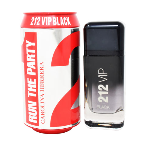 212 Vip Black Run The Party by Carolina Herrera Men Eau De Parfum 3.4 oz