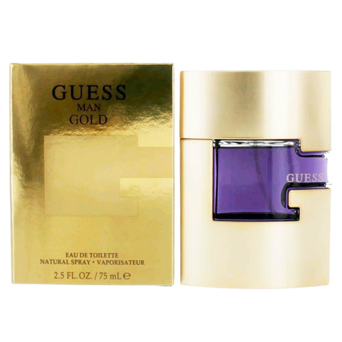 Guess Man Gold by Guess Men Eau De Toilette 2.5 oz
