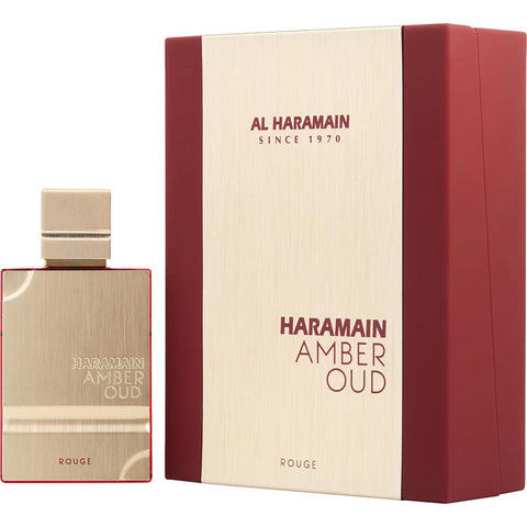 Al Haramain Amber Oud Rouge by Al Haramain Men Eau De Parfum 2 oz