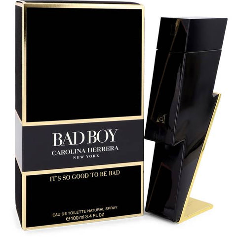 Bad Boy By Carolina Herrera Men Eau De Toilette 3.4 oz