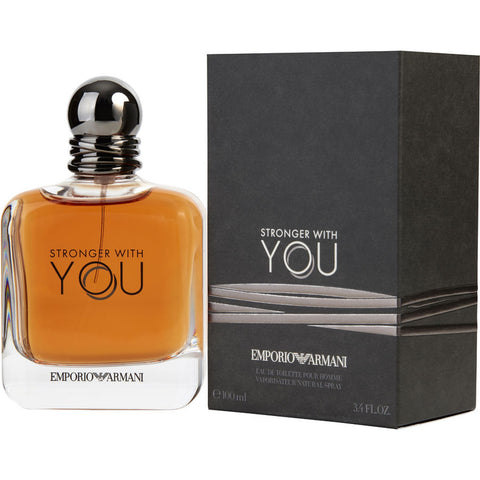 Emporio Armani Stronger With You by Giorgio Armani Men Eau De Toilette 3.4 oz