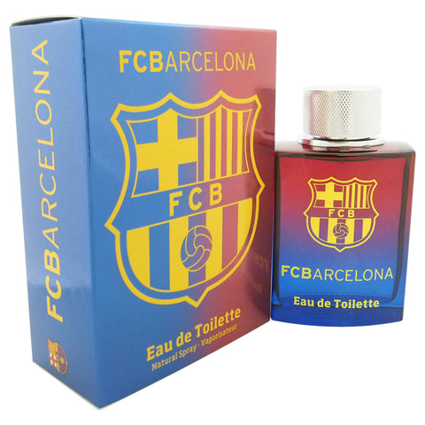 Fc Barcelona by Air Val International  Eau De Toilette 3.4 oz