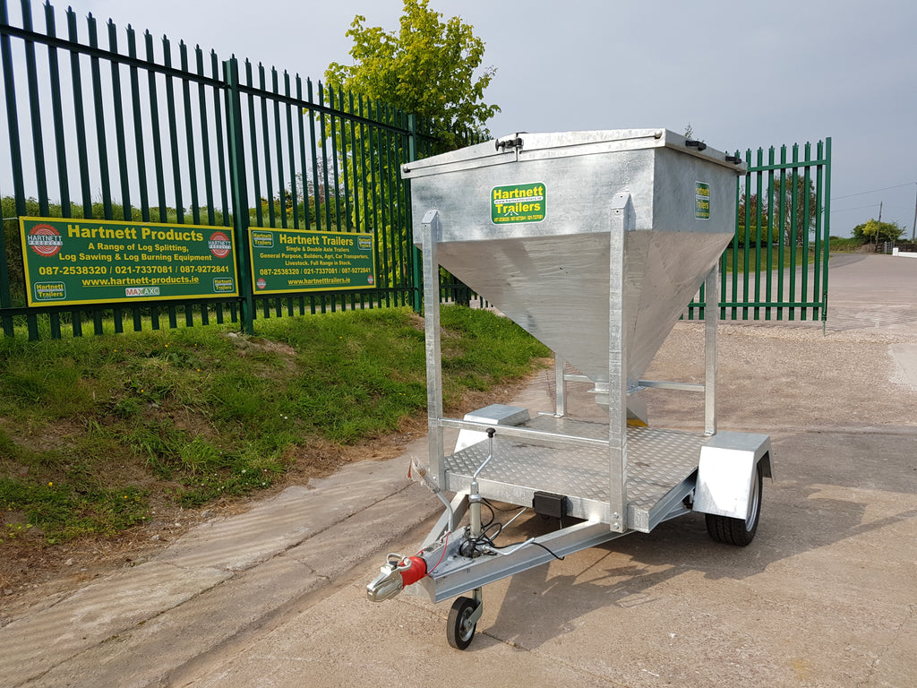 New mobile meal bin trailer
