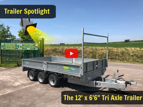 Tri Axle Trailer for Sale, Cork
