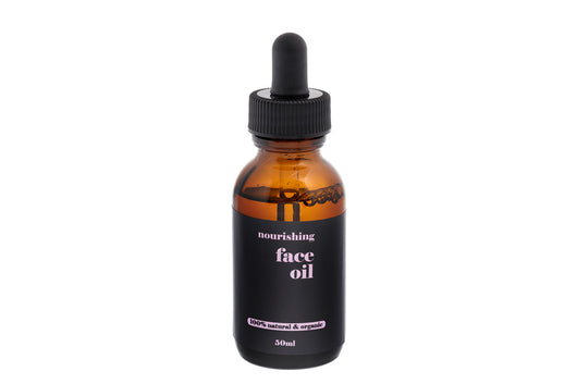Organic natural face oil