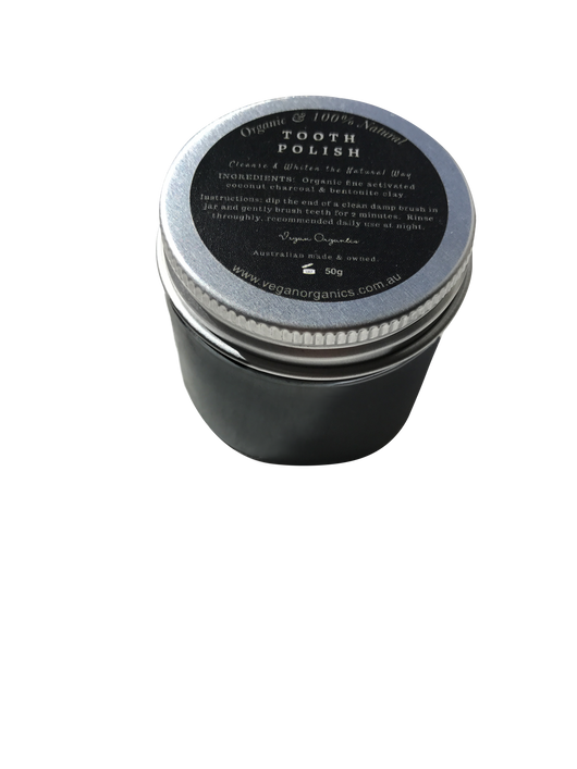 Organic Charcoal Tooth Polish