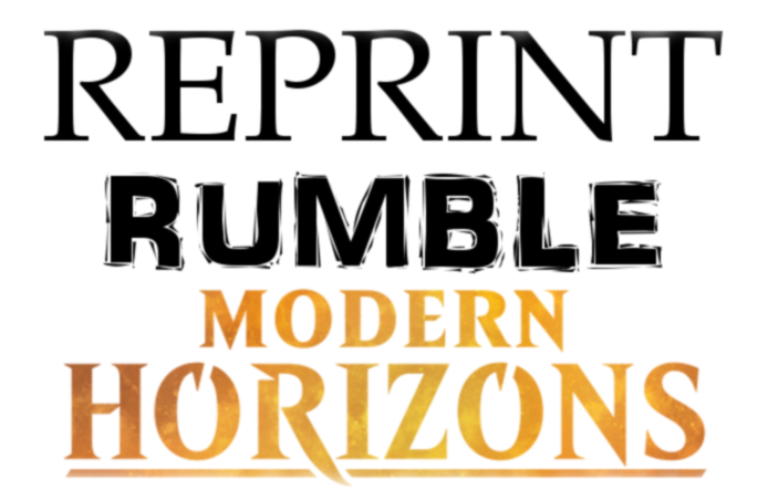 Reprint Rumble Modern Horizons Original Magic Art