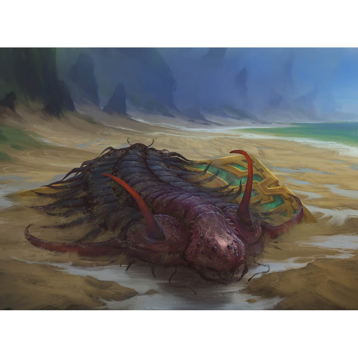 Shore Keeper Print - Print - Original Magic Art - Accessories for Magic the Gathering and other card games