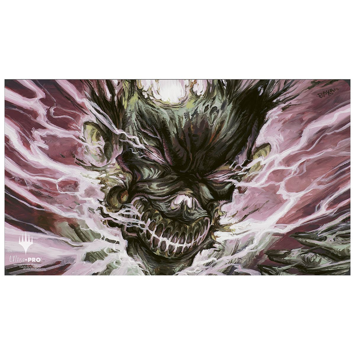 Blightning Playmat - Playmat - Original Magic Art - Accessories for Magic the Gathering and other card games