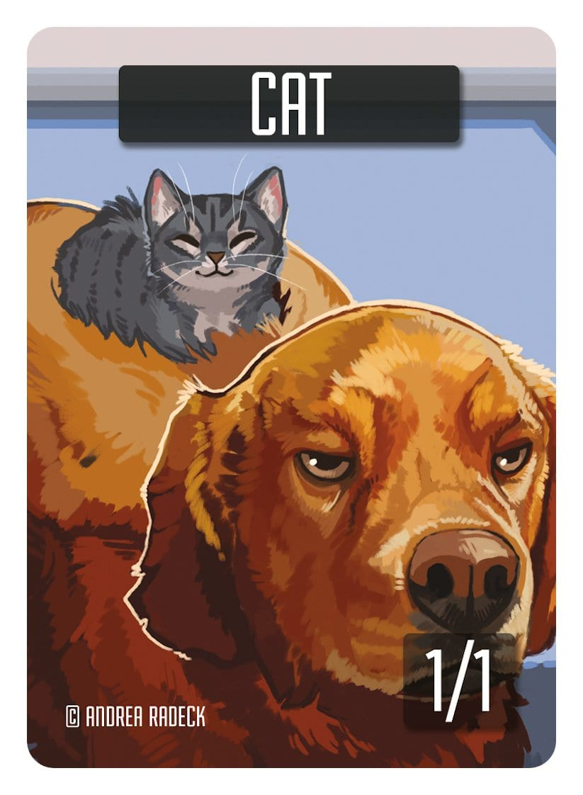Cat Token (1/1) by Andrea Radeck