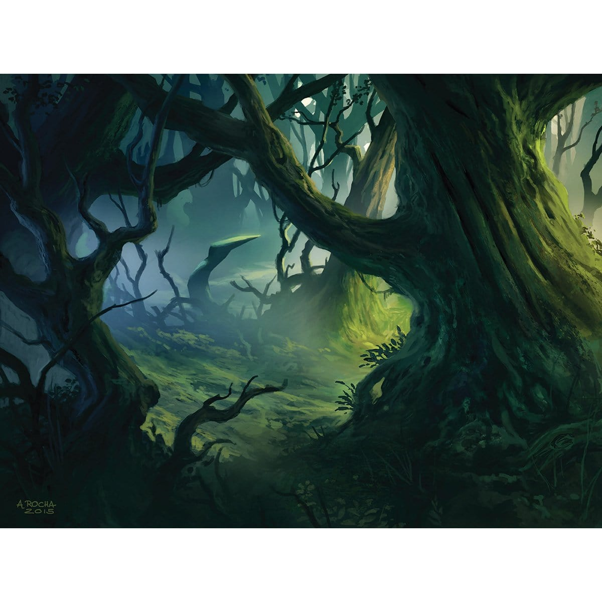 Forest (Shadows over Innistrad) Print