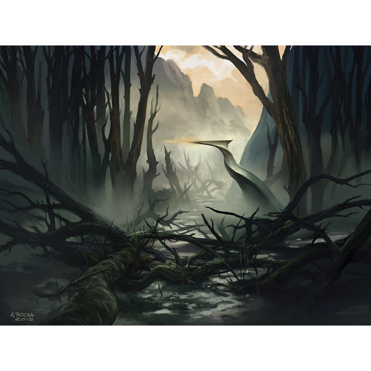 Swamp (Shadows over Innistrad) Print