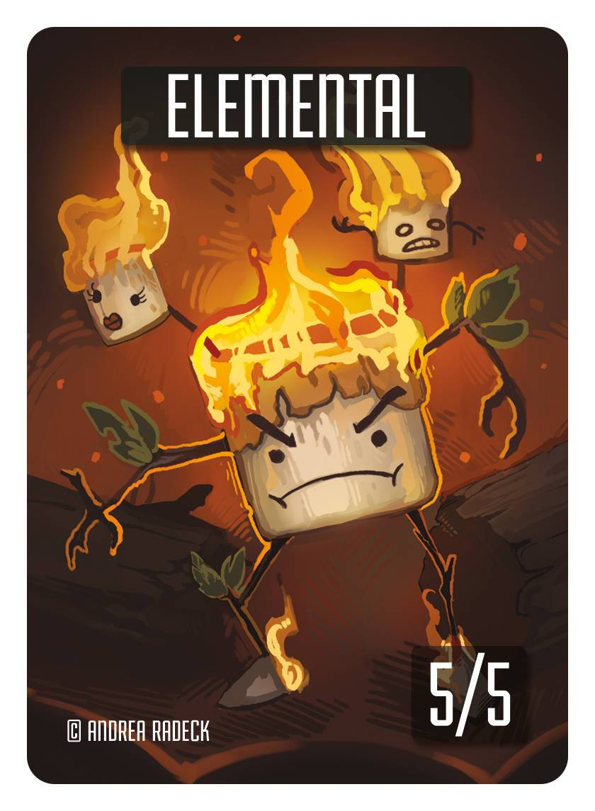Elemental Token (5/5) by Andrea Radeck