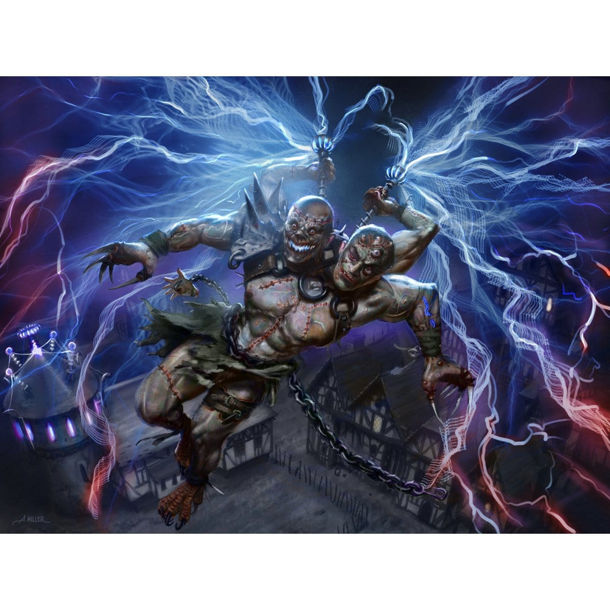 Kraum, Ludevic's Opus Print - Print - Original Magic Art - Accessories for Magic the Gathering and other card games