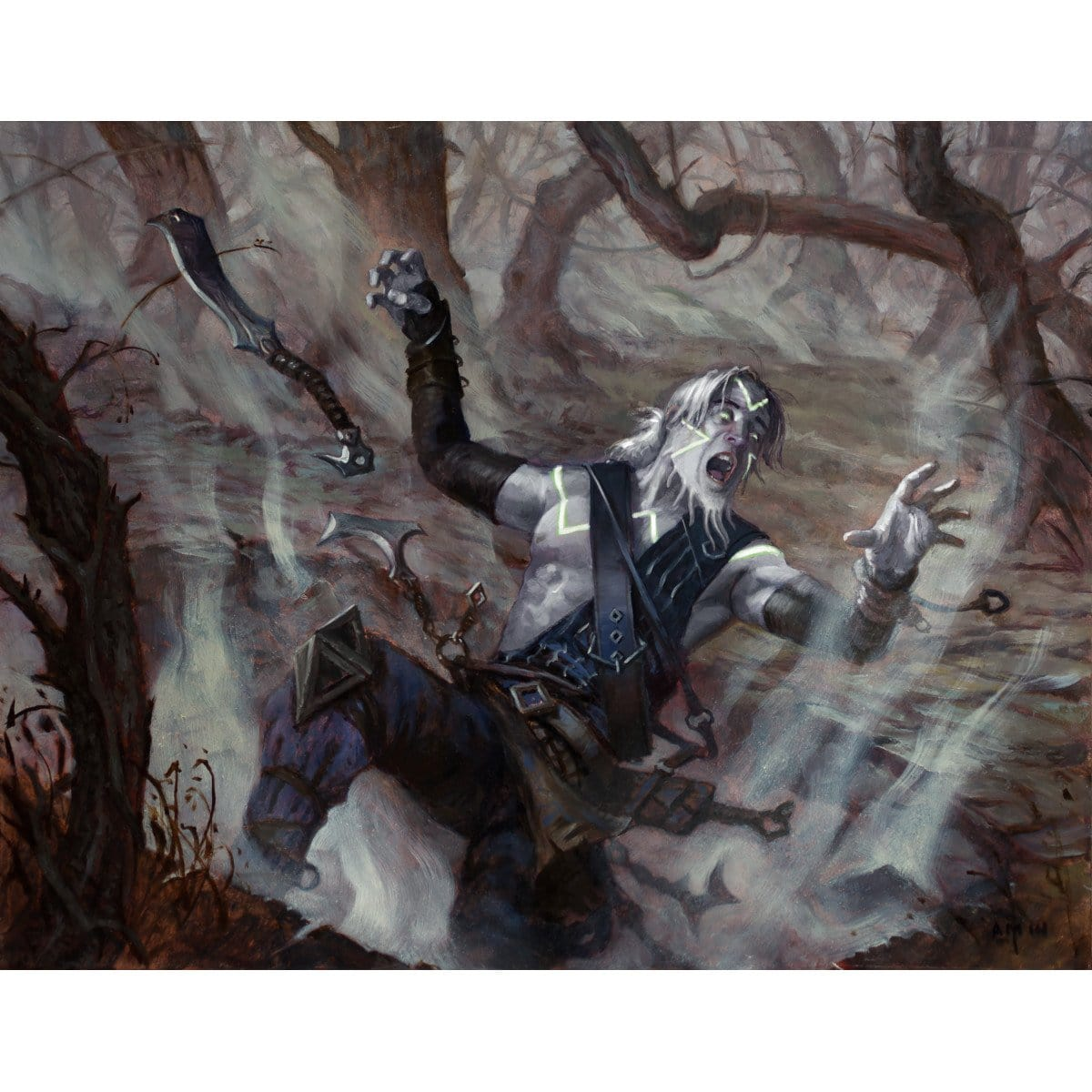 Ruinous Path Print - Print - Original Magic Art - Accessories for Magic the Gathering and other card games