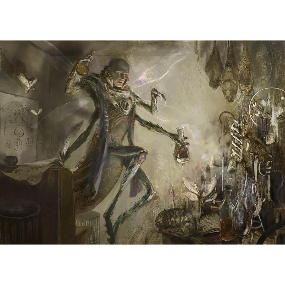 Aberrant Researcher Print - Print - Original Magic Art - Accessories for Magic the Gathering and other card games