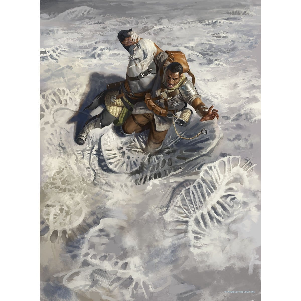 Adverse Conditions Print - Print - Original Magic Art - Accessories for Magic the Gathering and other card games