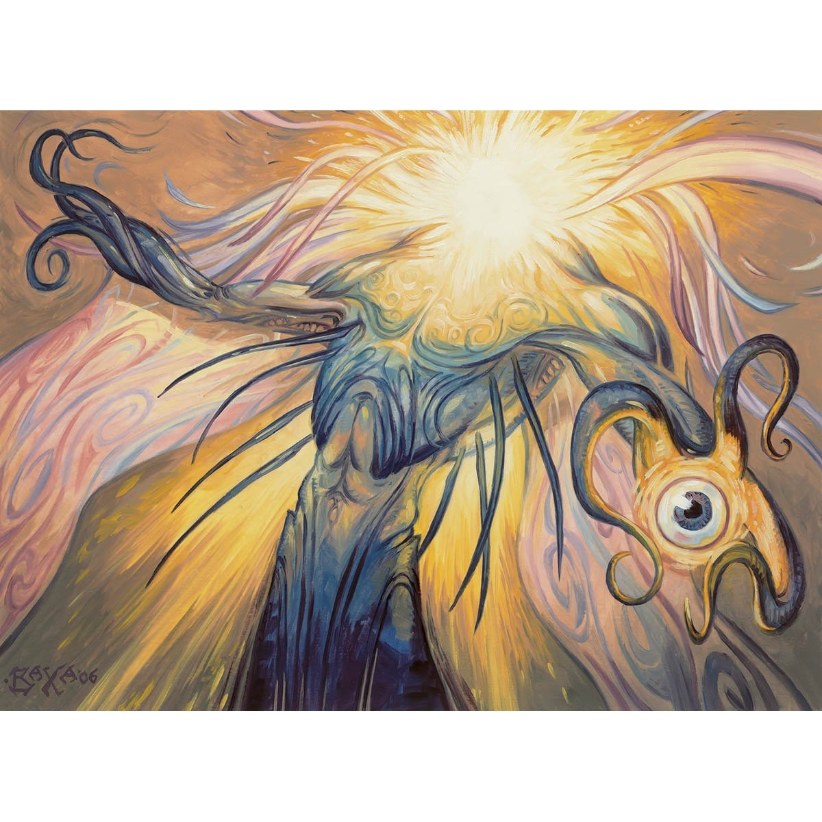 Aether Figment Print - Print - Original Magic Art - Accessories for Magic the Gathering and other card games