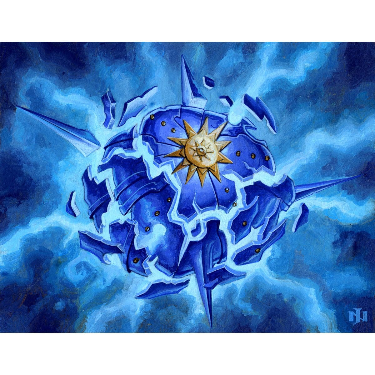 Aether Spellbomb Print - Print - Original Magic Art - Accessories for Magic the Gathering and other card games
