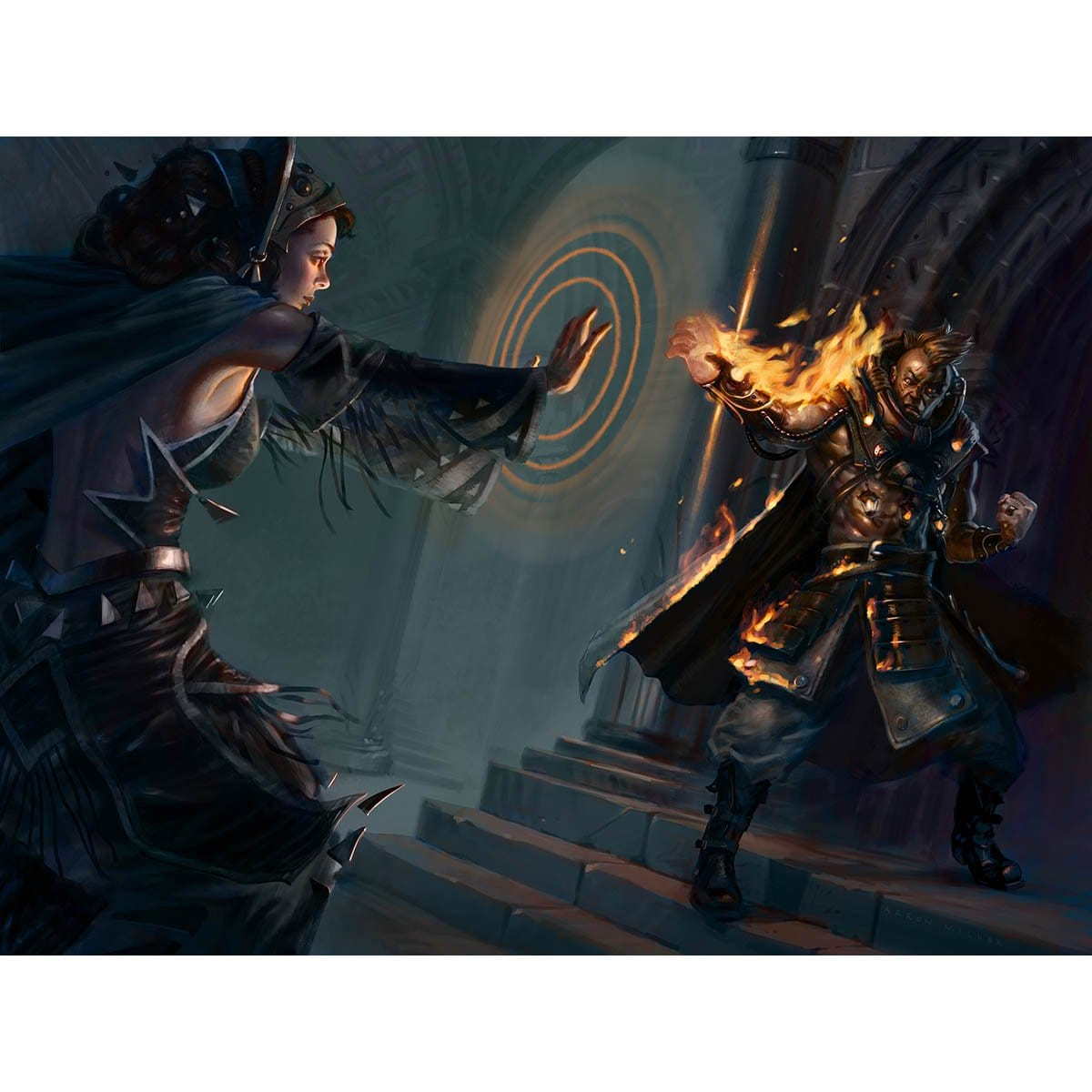 Aethersnatch Print - Print - Original Magic Art - Accessories for Magic the Gathering and other card games