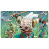Ajani, the Greathearted Playmat - Playmat - Original Magic Art - Accessories for Magic the Gathering and other card games