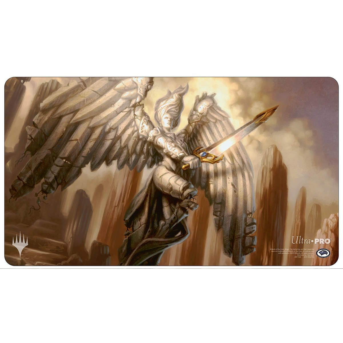 Akroma's Memorial Playmat - Playmat - Original Magic Art - Accessories for Magic the Gathering and other card games