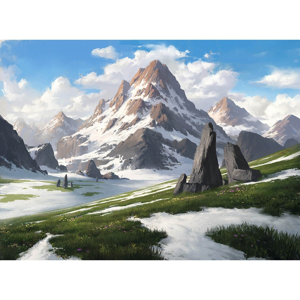 Alpine Meadow Print