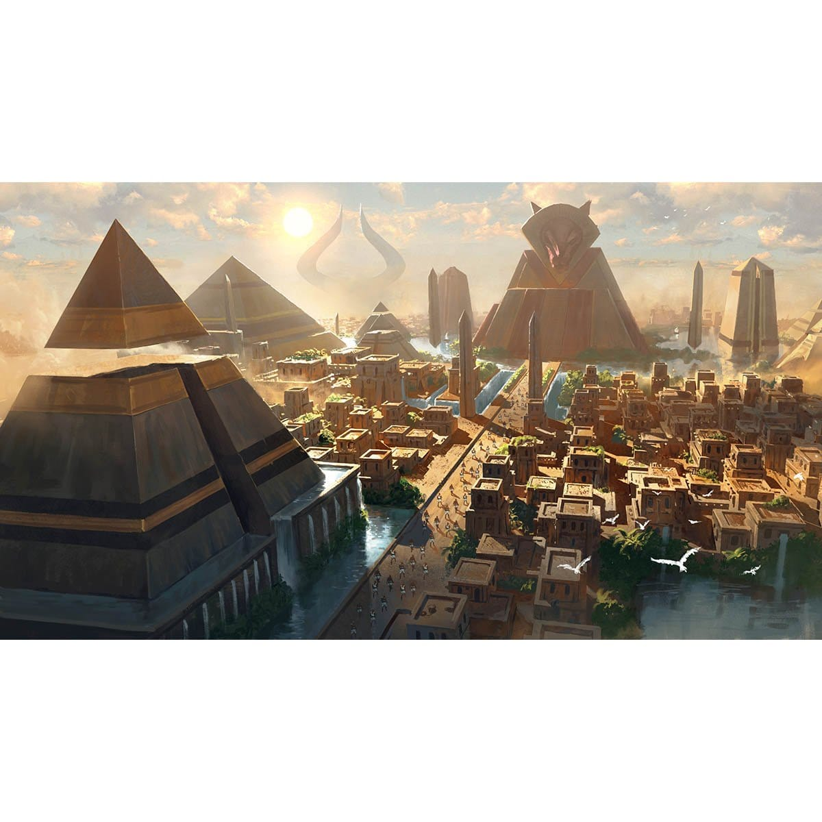 Amonkhet Promotional Art Print